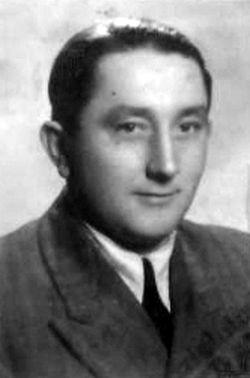 """Stanisław Kaczyński """"Pantera"""" - 1948 rok. Fot. z archiwum rodzinnego Doroty Kępki"""