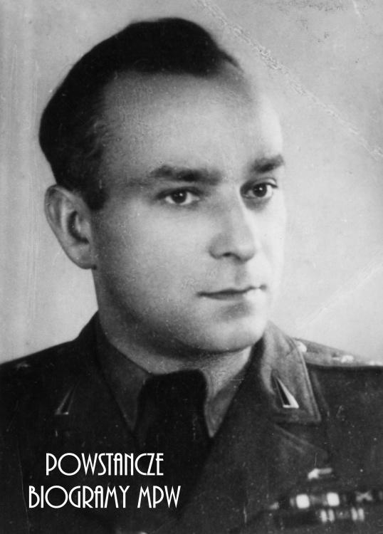 """Kpt. Ryszard Szymon Jamontt-Krzywicki """"Szymon"""" (1903-1957). Fot. ze zbiorów Muzeum Powstania Warszawskiego, sygn. MPW-IK/1074"""