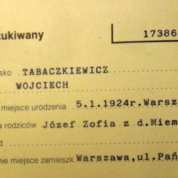 PCK - kartoteka