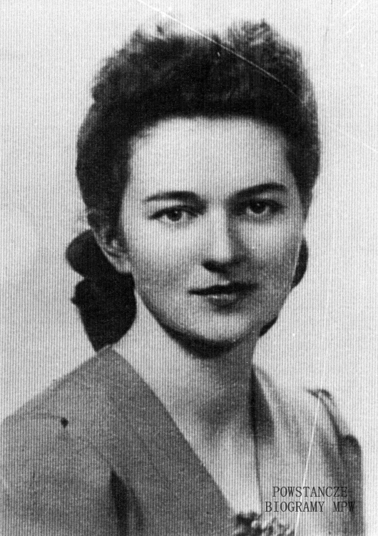 """Barbara Morawska-Mrówczyńska ps. """"Wyrwiząb"""" (1924-1989) Fot. AR MPW"""