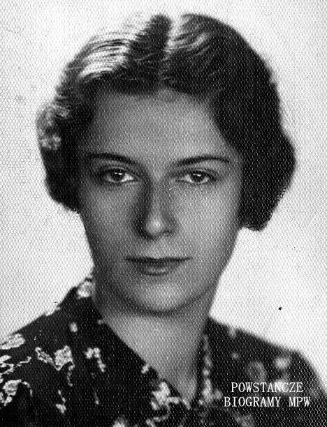 """Krystyna Hupert  z domu Hummel """"Bożena"""" (1917-1944). Fot. archiwum rodzinne"""