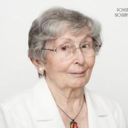 Maria Gecow-Kupiszewska. Zdjęcie z serii portretów Powstańców Warszawskich w ramach projektu