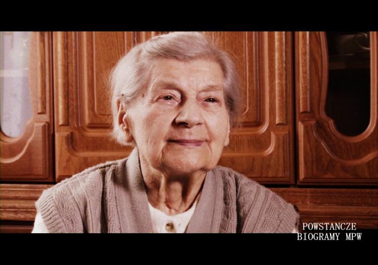 Halina Roguska - 2014 r. Fot. Archiwum Historii Mówionej MPW