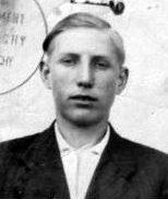 """Tadeusz Lewandowski """"Motyl"""". Zdjęcie z niemieckiej kenkarty."""