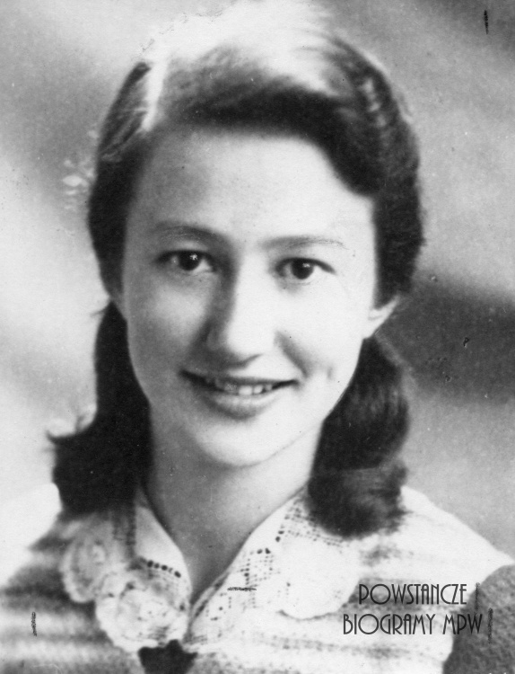 "Anna Laskowiczówna ps. ""Iskra"" (1926-1944) Fot. AR MPW"