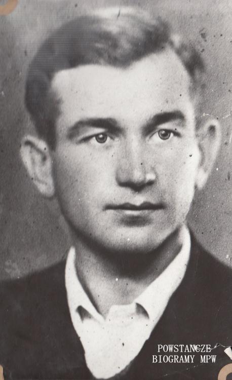 """Władysław Manugiewicz ps. """"Kordian"""" (1918-1982). Fot. udostępnione z archiwum rodzinnego przez Magdalenę Manugiewicz - Obrubko."""