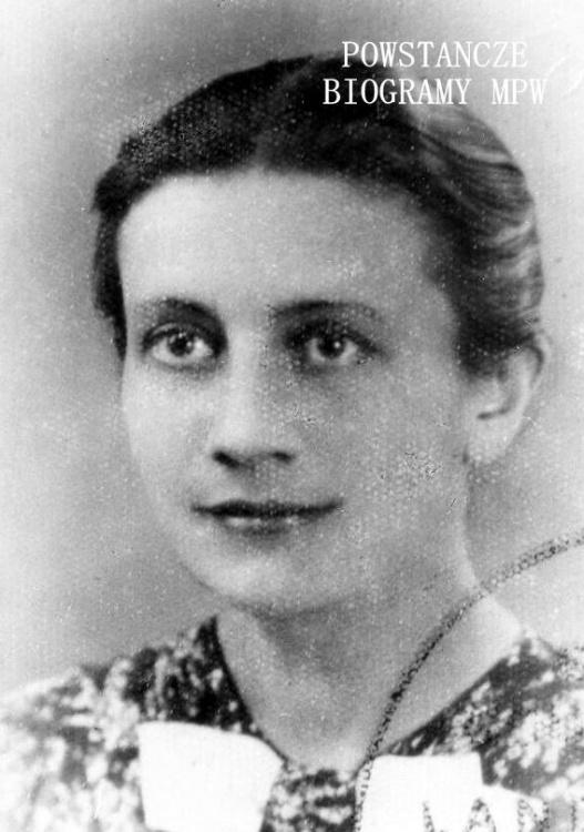 """por. Janina Jętkiewicz """"Janina"""" (1902-1985). Fot. archiwum rodzinne"""