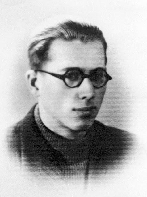"""Konrad Okolski ps. """"Kuba"""" (1923-1944) Fot. AR MPW"""