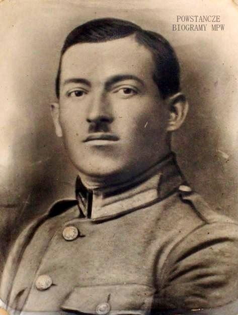 """Aleksander Nawrocki ps. """"Korba"""" (1892-1944). Fot. archiwum rodzinne Tomasza Kozarzewskiego"""