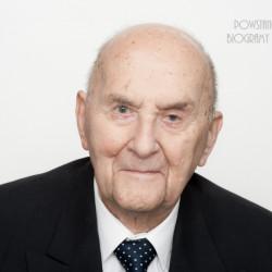 Waldemar Bohdan Melentowicz. Zdjęcie z serii portretów Powstańców Warszawskich w ramach projektu