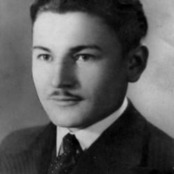 Henryk Rozwadowski, 1940 r. Zdjęcie z archiwum rodzinnego córki, Alicji Woźnicy z d. Rozwadowskiej.