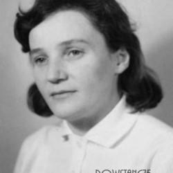 Bona Maria Celarska, po wojnie Przybysz - Zalewska. Fot. AR MPW