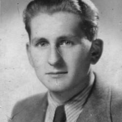 Włodzimierz Józef Kadura (1921-1944) Zdjęcie z archiwum rodzinnego córki.
