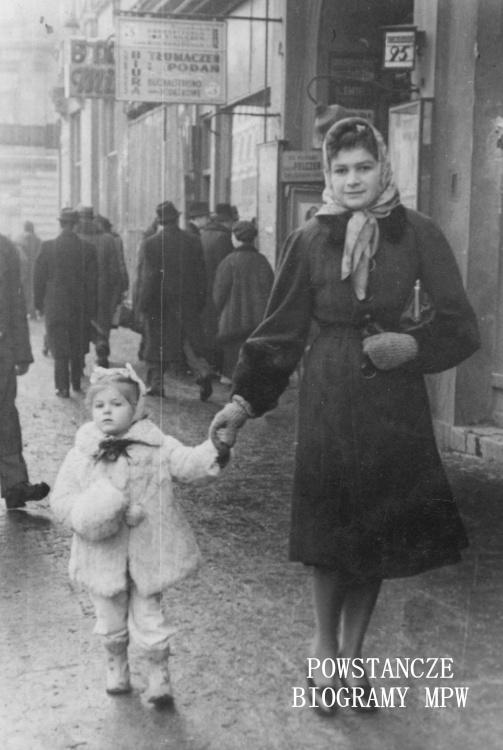 """Janina Wierusz-Kowalska """"Dzida"""" (1916-1997). Fot. archiwum rodzinne"""