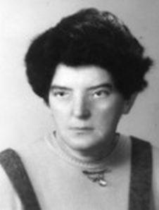 """Stefania Zawierowska - Paszkowska ps. """"Nina"""". Fot. archiwum rodzinne."""