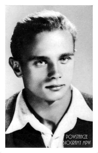 """Bolesław Buczkowski ps. """"Konrad"""", """"Bolek"""". Fot. archiwum rodzinne."""