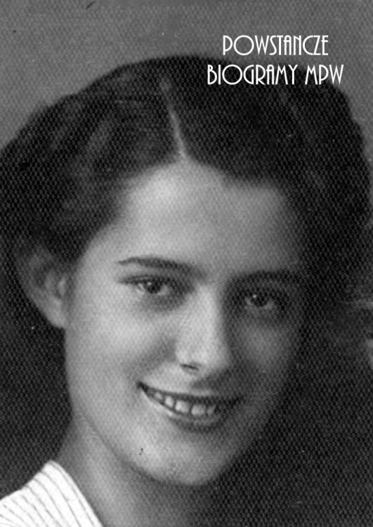 """Maria Szlenk """"Lula"""" (1921-2010) Fot. AR MPW"""