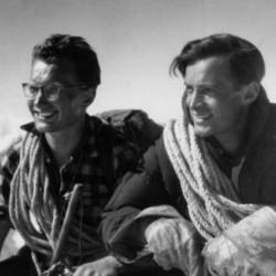 Jerzy Pilitowski (z prawej) z Janem Długoszem w Tatrach (fot. archiwum rodzinne)