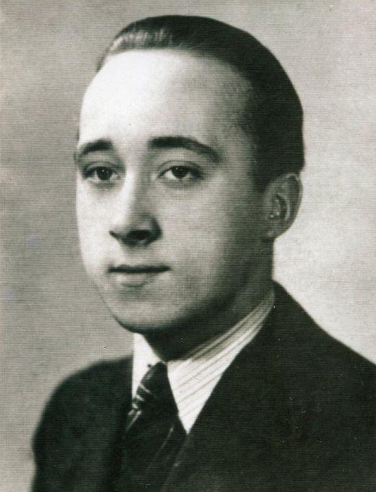 """Lech Domasłowski """"Żbik"""" (1924-1944). Fot. ze zbiorów MPW / archiwum rodzinne."""