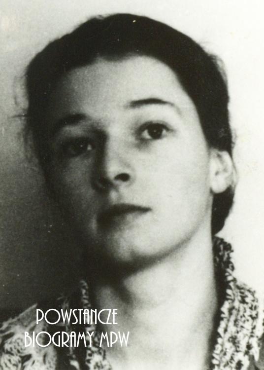 """Hanna Barbara Szczepkowska-Mickiewicz """"Anna"""" (1915-2006). Fot. ze zbiorów Muzeum Powstania Warszawskiego, sygn. P/3956"""
