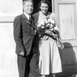 Krystyna Procner-Certowicz ps. Krycha z mężem Zbigniewem Certowiczem ps.