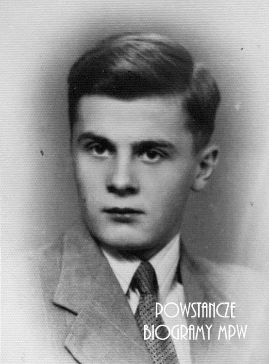 """Zbigniew Bielewicz """"Cygan"""" (1924-2004). Fot. z archiwum rodzinnego Marleny Niemiec."""