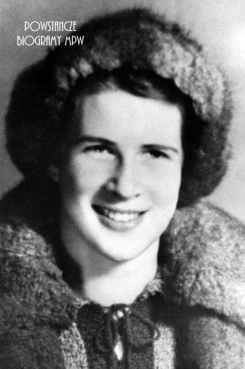 "Barbara Plebańska ps. ""Ola"" (1922-1944). Fot. AR MPW"