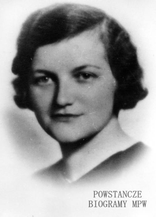 """Dr Anna Sipowicz domu Gościcka """"Nana"""", """"Dentystka"""" (1909–1988). Fot. ze zbiorów  Muzeum Niepodległości w Warszawie"""