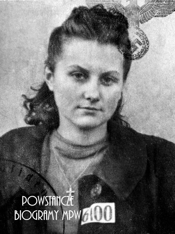 """Marta Alicja Glińska z domu Miazio ps. """"Ala"""" (1924-2009) Fot. AR MPW"""