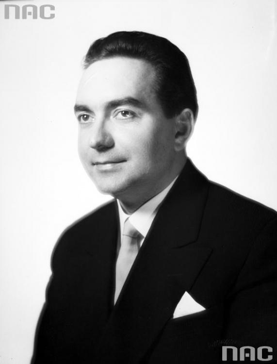 """Edward Pawlak ps. """"Zbożym"""" (1920-2014)  Fot ze zbiorów NAC [www.audiovis.nac.gov.pl]"""