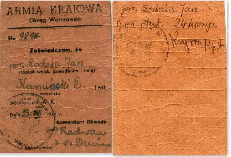 Z archiwum rodzinnego Jerzego Bendera