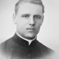 Ks. kapelan Stanisław Paraszewski. Fot. udostępnione przez Roberta Rudnickiego