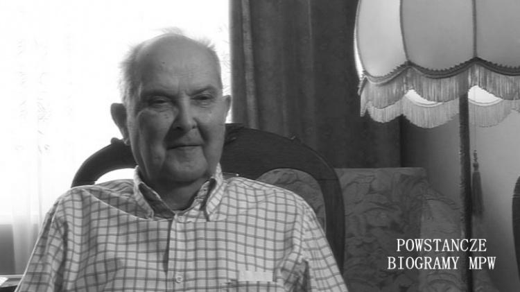 Jarosław Fadiejew  podczas wywiadu dla Archiwum Historii Mówionej MPW w roku 2009. Fot. MPW