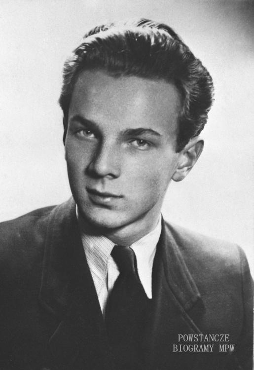 """Jan Helwich """"Bohdan"""" (1927-1944) Fot. AR MPW"""