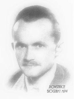 Dr Władysław Otton Budzyński (1911-1944) Fot. AR MPW