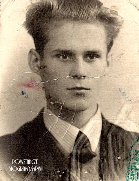 """Tadeusz Michał Haber """"Jasio"""". Fot. z archiwum rodzinnego Marcina Habera"""