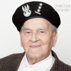 Zdzisław Iwanowski. Zdjęcie z serii portretów Powstańców Warszawskich w ramach projektu