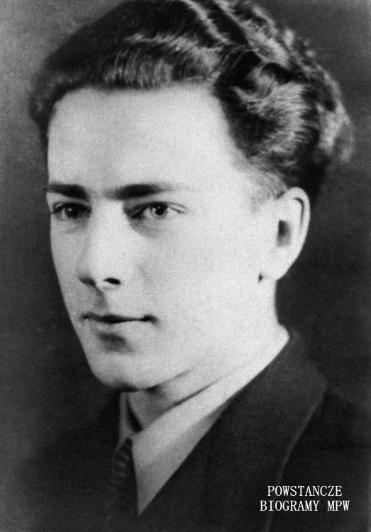"""Jerzy Weil ps. """"Jerzyk, """"Jerzy"""" (1923-1944). Fot. AR MPW"""