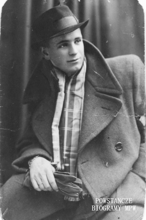 """Marian Godlewski """"Śmiały"""" (1921-1973). Fot. z archiwum rodzinnego Ireny Kosyl"""