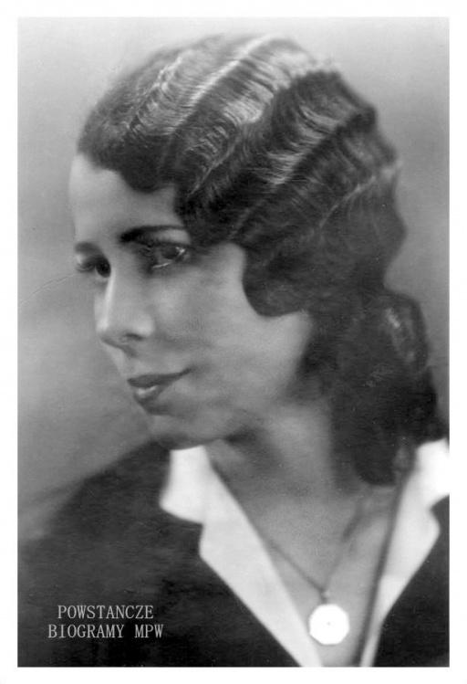 """Eufemia Malinowska """"Myszka"""" (1909-1975). Fot. ze zbiorów Archiwum Akt Nowych"""