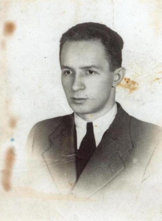 """Stefan  Mrozowski ps. """"Pik"""" (1914 - 1944) Fot. AR MPW"""