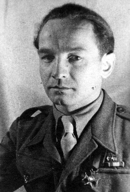 """Zbigniew Blichewicz """"Szczerba"""" (1912-1959) Fot. AR MPW"""