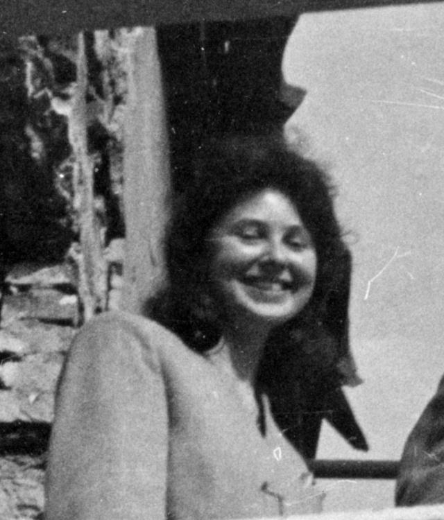 Janina Fabicka. Zdjęcie z 1945 roku autorstwa Olgierda Budrewicza. MPW/Fototeka