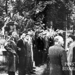 Fotografia z Powstania Warszawskiego. Wola. Godzina