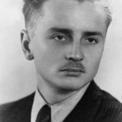 Henryk Józef Kowal, zdjęcie z okresu okupacji. Fot. AR MPW