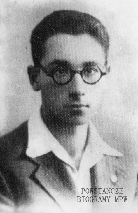 Michał Woynicz-Sianożęcki - zdjęcie z okresu studiów