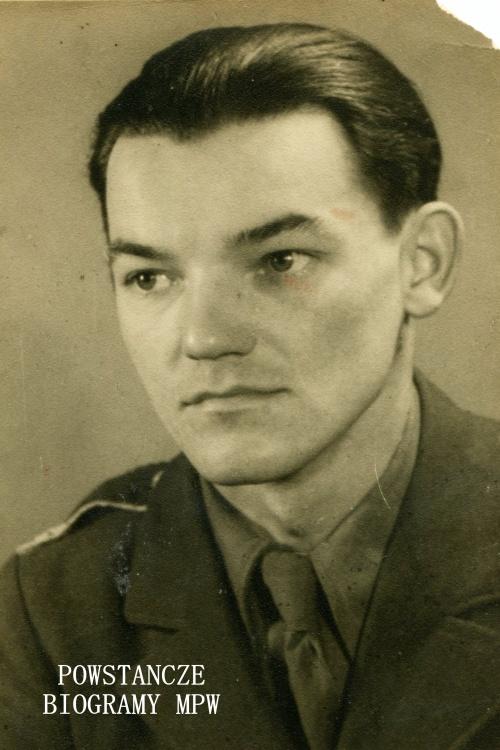 """Jerzy Dobkowski """"Jur"""" (1923-1975). Zdjęcie wykonane po wyzwoleniu. Belgia, 1946 r. Fot. archiwum prywatne"""