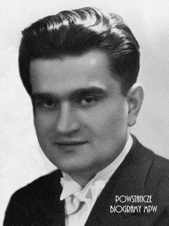 """Tadeusz Daab ps. """"Lech"""" (1915-1976). Fot. z archiwum Ewy Małgorzaty Marzec."""