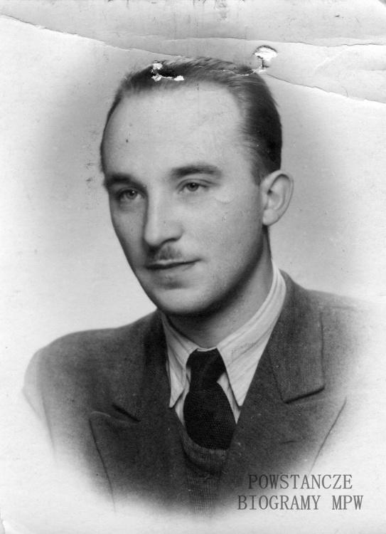"""Stanisław Zamecki """"Pobóg"""" (1919-2004). Zdjęcie z archiwum rodzinnego."""