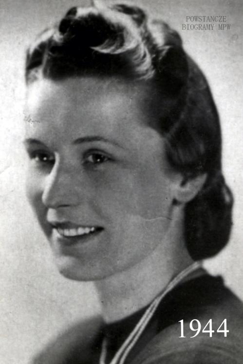 """Liliana Suszko """"Emma"""" (1923-1944). Fot. nadesłane przez  Hannę Polak."""